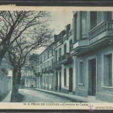 Postales: SAN FELIU DE CODINAS - CARRETERA DE CALDAS - (20861). Lote 42598690