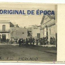 Postales: (PS-39665)POSTAL FOTOGRAFICA DE CORNELLA-PLAZA DEL MERCADO. Lote 42653158