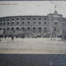 Postales: BARCELONA PLAZA TOROS ARENAS POSTAL ANTIGUA . Lote 42693553