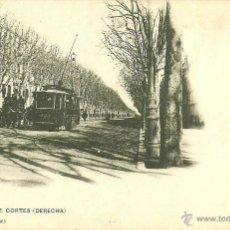 Postales: BARCELONA - CALLE DE CORTES (DERECHA).. Lote 42769998
