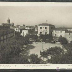 Postales: CASSA DE LA SELVA - 2 - PLAZA DEL GENERALISIMO FRANCO - FOTOGRAFICA F.GUILERA - (21138). Lote 42777461