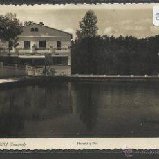 Postales: LA FLORESTA - 4 - PISCINA Y BAR - FOTOGRAFICA BELLMON - (21186). Lote 42794816