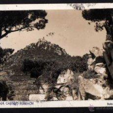 Postales: ARGENTONA . CASTILLO BURRIACH. CIRCULADA 1945. Lote 42812836
