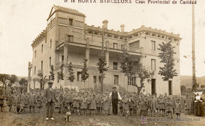 HORTA. 18 CASA PROVINCIAL DE CARIDAD. FOTOGRÁFICA (Postales - España - Cataluña Antigua (hasta 1939))