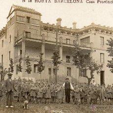 Postales: HORTA. 18 CASA PROVINCIAL DE CARIDAD. FOTOGRÁFICA. Lote 42815985