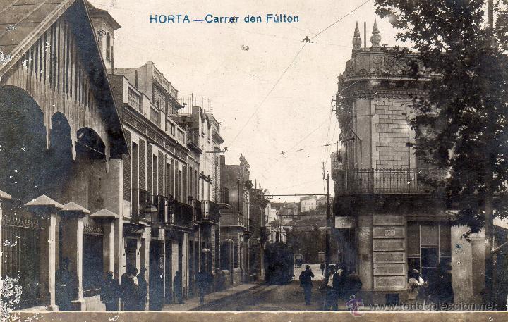 HORTA. CARRER DEN FULTON. FOTOGRÁFICA (Postales - España - Cataluña Antigua (hasta 1939))