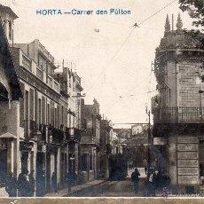 Postales: HORTA. CARRER DEN FULTON. FOTOGRÁFICA. Lote 42816019