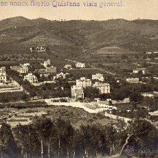 Postales: HORTA. A.18 BARRIO QUINTANA. VISTA GENERAL. FOTOGRÁFICA. Lote 42816069