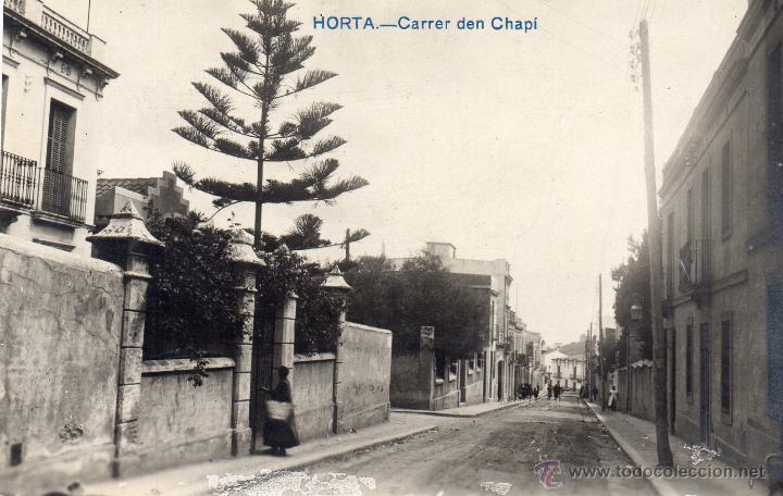 HORTA. CARRER DEN CHAPÍ. FOTOGRÁFICA (Postales - España - Cataluña Antigua (hasta 1939))
