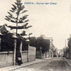 Postales: HORTA. CARRER DEN CHAPÍ. FOTOGRÁFICA. Lote 42816095