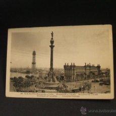 Postales: POSTAL - MONUMENTO A COLON - BARCELONA -. Lote 42863162