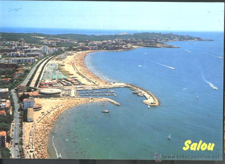 SALOU - VISTA AÉREA (Postales - España - Cataluña Moderna (desde 1940))