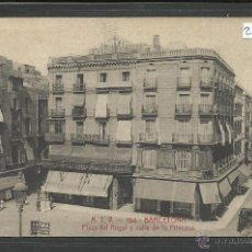 Postales: BARCELONA - A.T.V 154 - PLAZA DEL ANGEL Y CALLE DE LA PRINCESA - (21428). Lote 42995426