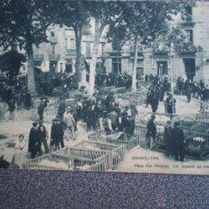 Postales: GRANOLLERS BARCELONA MERCAT POSTAL ANTIGUA. Lote 43017596