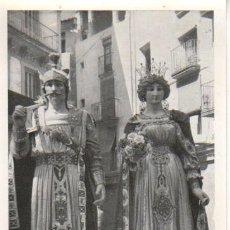 Postales: POSTAL DE OLOT - LOS GIGANTES - ELS GEGANTS Nº 3. Lote 43127967