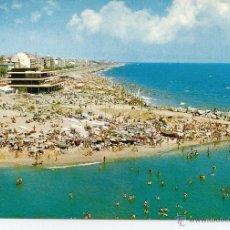 Postales: POSTAL MASNOU (BARCELONA) - PLAYA Y CLUB NAUTICO - 1974. Lote 43140529