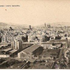 Postales: BARCELONA-VISTA GENERAL-MISSEHS.BARNA-SIN CIRCULAR. Lote 43175931