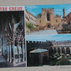 Postales: POSTAL ANTIGUA DEL MONASTERIO DE SANTES CREUS (TARRAGONA). Lote 43192433