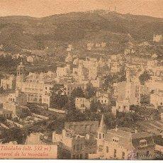Postales: BARCELONA-TIBIDABO (ALT.532 M)VISTA GENERAL DE LA MONTAÑA-L.ROISIN. Lote 43201227