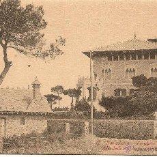 Postales: BARCELONA-TIBIDABO- ALREDEDOR DE LA CUSPIDE-CHALETS. Lote 43201251