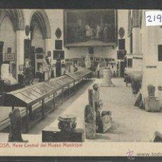 Postales: TORTOSA - 11 - NAVE CENTRAL DEL MUSEO PRINCIPAL- THOMAS - (21936). Lote 43224203