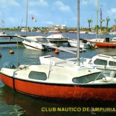 Postales: AMPURIABRAVA - CLUB NAUTICO - ED. ARRIBAS 1972. Lote 43255169