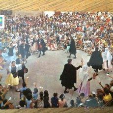 Postales: CASTELLTERCOL - BARCELONA - BALL DEL CIRI - BAILE DEL CIRI - AÑOS 70. Lote 43278770