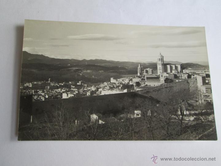 GERONA VISTA PANORAMICA DESDE EXTRAMUROS 79 (Postales - España - Cataluña Moderna (desde 1940))