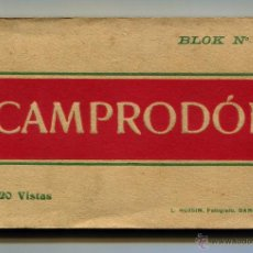 Postales: CAMPRODON BLOC 20 POSTALES 14 X 9 L. ROSIN COMPLETO EN BUEN ESTADO. Lote 43032179