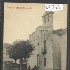 Postales: FIGARO -ESGLESIA PARROQUIAL - THOMAS - (22313). Lote 43334701