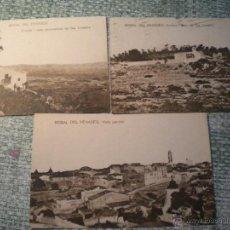Postales: LOTE DE TRES POSTALES DE LA BISBAL DEL PENEDES.. Lote 43355965