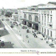 Postales: POSTAL DE BARCELONA, ESTACIÓN DE FRANCIA , CIRCULADA EN 1953 SIN SELLO. Lote 43361859
