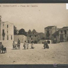 Postales: CONSTANTI - J B 5 - PLAZA DEL CASTILLO - FOTOGRAFICA - (3461). Lote 43366932