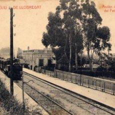Postales: SAN FELIU DE LLOBREGAT (BARCELONA).- ANDÉN DE LA ESTACIÓN DEL FERROCARRIL M.Z.A. Lote 43432329