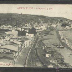 Postales: ARENYS DE MAR - VISTA PARCIAL Y PLAYA - C.SOLA - (22602). Lote 43439533