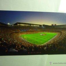 Postales: POSTAL PANORAMICA FUTBOL F.C.BARCELONA- ESTADIO. Lote 54205744