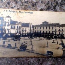 Postales: PS4498 POSTAL FOTOGRÁFICA J.B. BALAGUER -PLAZA MERCADAL- UNIÓN POSTALLE UNIVERSELLE. Lote 43492691