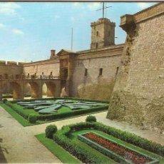 Postales: BARCELONA, CASTELL DE MONTJUÏC - ESCUDO DE ORO Nº 445 - SIN CIRCULAR. Lote 43503448