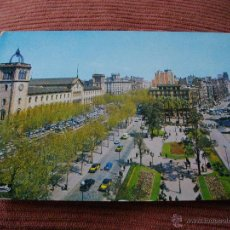 Postales: POSTAL DE BARCELONA PLAZA DE LA UNIVERSIDAD VER LAS 2 FOTOS MAS POSTALES EN MI TIENDA. Lote 43509611