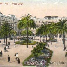 Postales: POSTAL BARCELONA - PLAZA REAL-Nº 125 J. VENINI. Lote 43511632