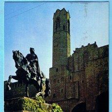 Postales: BARCELONA. Nº 2253. BARRIO GOTICO. MONUMENTO A BERENGUER EL GRANDE. ZERKOWITZ, 1975. Lote 228487245