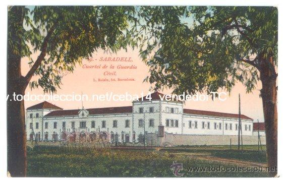 Resultado de imagen de imagenes de Sabadell cuartel de la guardia civil