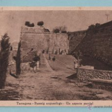 Postales: POSTAL DE TARRAGONA PASEO ARQUEOLÓGICO SIN CIRCULAR. Lote 43543036