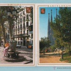 Postales: LOTE DE CUARENTA Y DOS POSTALES CIRCULADAS DE BARCELONA. Lote 43553391