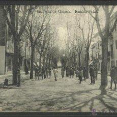 Postales: SANT FELIU DE GUIXOLS - RAMBLA VIDAL - COL·PASCAL - (23064). Lote 43568445