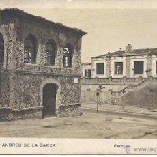Postales: PS4545 SANT ANDREU DE LA BARCA 'ESCOLES'. FOTOGRÁFICA. CIRCULADA 1947. Lote 43622634