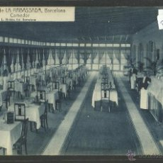 Postales: BARCELONA - 4 - CASINO DE LA RABASSADA - COMEDOR - ROISIN - (23177). Lote 43649553