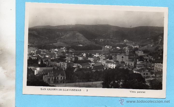 SAN ANDRES DE LLAVANERAS. 2 VISTA PARCIAL (Postales - España - Cataluña Moderna (desde 1940))