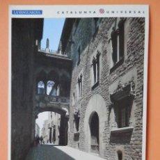 Postales: EL BARRI GÒTIC DE BARCELONA, 14. BARRI GÒTIC: PUENTE DEL CARRER DEL BISBE - JOSÉ MARÍA ALGUERSUARI. Lote 43729716