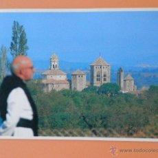 Postales: LOS MONATERIOS DE POBLET, SANTES CREUS Y VALLBONA DE LES MONGES, 11. MONASTERIO DE SANTA MARIA DE PO. Lote 43729718